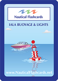 IALA Buoyage Nautical Flashcards