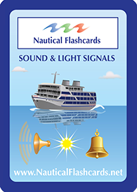 Nautical Sounds and Light Signals Flashcards